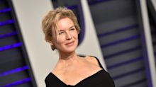 Renée Zellweger makes rare red carpet appearance at Oscars party