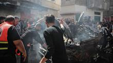 Israel meets suspected Hamas cyber-attack with immediate air strike
