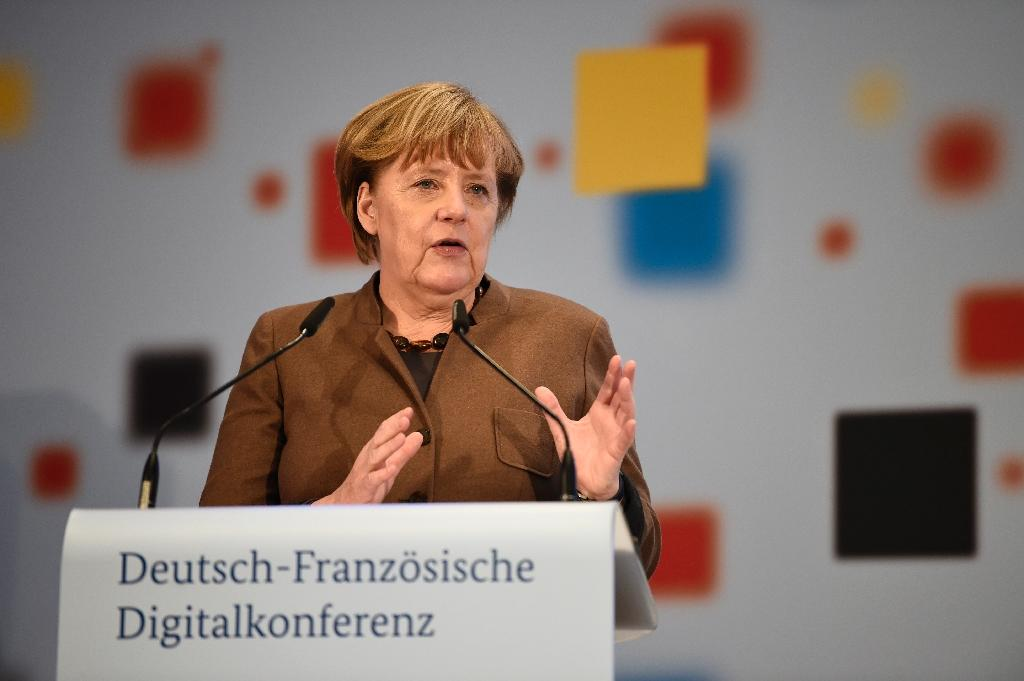 German Chancellor Angela Merkel will again stands for re-election, facing the rise of anti-immigration, anti-Islam party AfD and strong criticism within her own party (AFP Photo/ODD ANDERSEN )