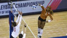 Texas sweeps No. 1 Badgers to set up final against Kentucky