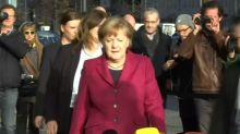 German parties at 'pain threshold' on immigration in coalition talks