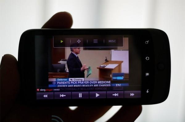 SlingPlayer Mobile for Android beta preview