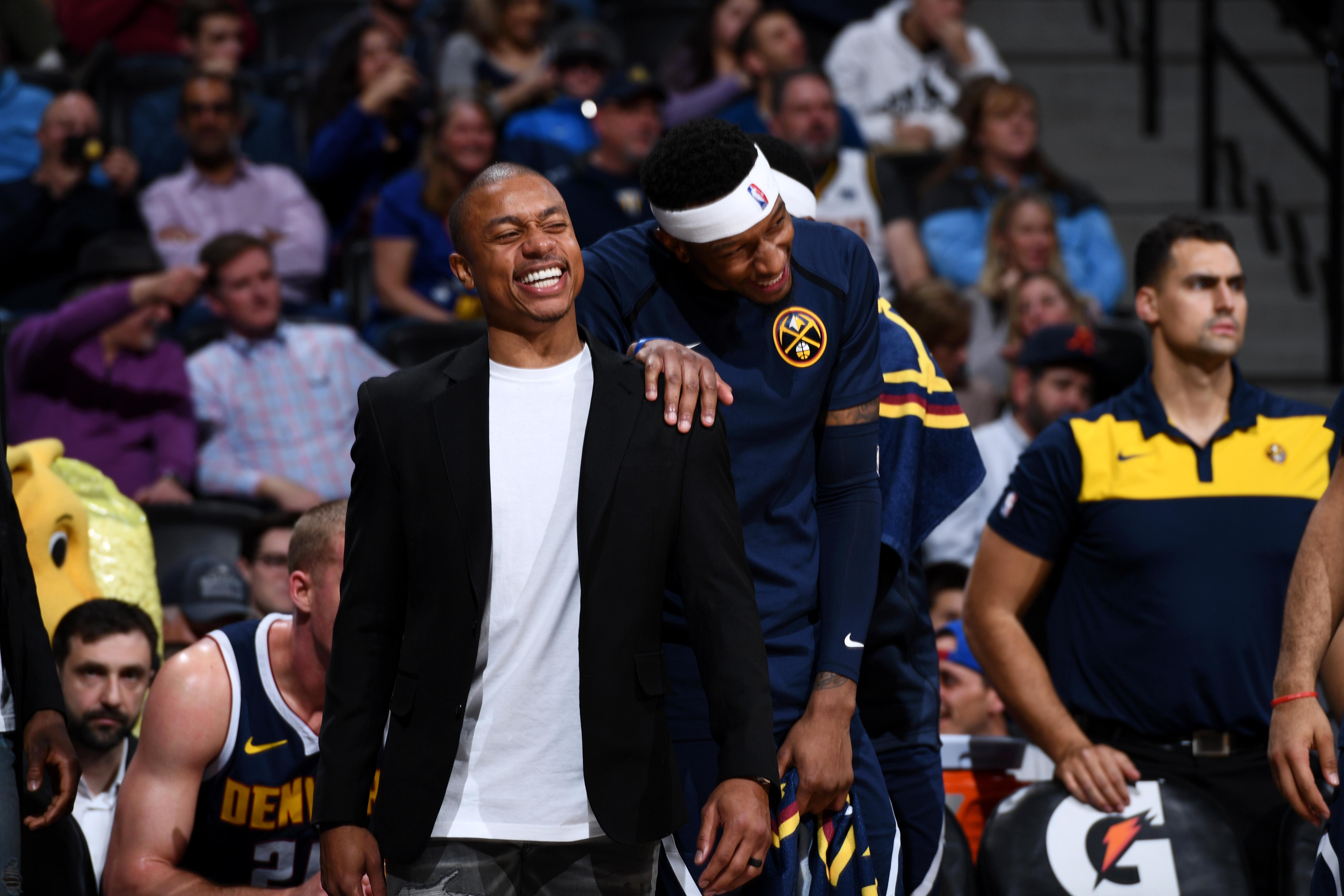 71a97309652 Isaiah Thomas listed as questionable, could make Nuggets debut soon