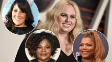 'Take a seat on this one Rebel Wilson': Actress schooled for claiming she's 'the first-ever plus-sized girl to be the star of a romantic comedy'