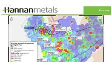 Hannan defines seven new drill targets from an extensive soil geochemical survey around the Kilbricken zinc deposit, Ireland