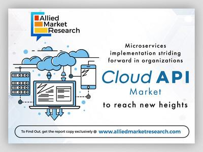 Global Cloud API Market to Witness a CAGR of 20.3% From 2019 to 2026: Allied Market Research