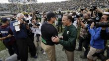 Jim Harbaugh would 'prefer' Mark Dantonio not talk about the Wolverines