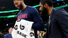 Report: Lakers could still land Kyrie Irving, who 'wants to play with' Anthony Davis