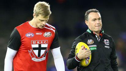 Riewoldt fears for Saints coach Richardson