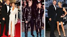 17 excellent David and Victoria Beckham throwback style moments