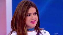 Maisa leva bronca de Silvio Santos ao citar Raul Gil: 'Não falamos de outros programas'