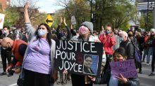 Les manifestants québécois réclament justice pour l'amérindienne Joyce Echaquan