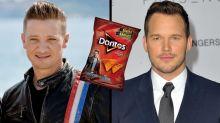 Jeremy Renner Trolls Chris Pratt Over His Strict Diet by Eating Star-Lord Doritos