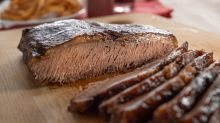 Baking this barbecue brisket makes it deliciously tender