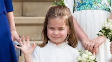 Princess Charlotte misses out on bridesmaid duties as her school teacher marries her godfather