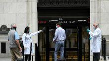 Wall Street salue la reprise progressive de l'activité économique