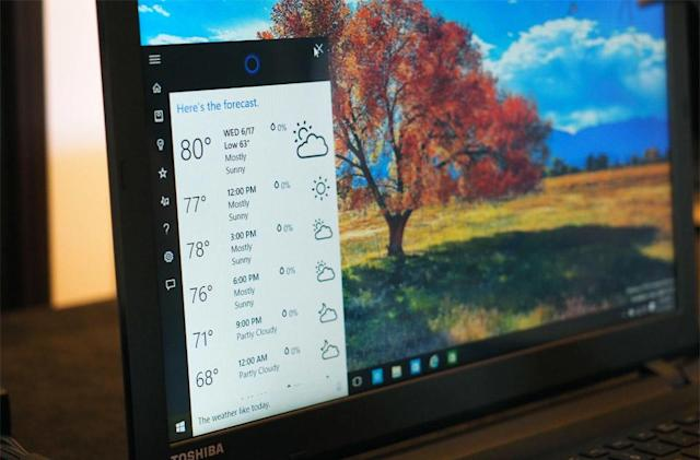 Cortana can be used to hack Windows 10 PCs