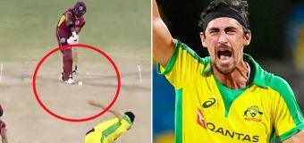 'Filth': Cricket world erupts over Mitchell Starc act