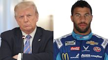 Bubba Wallace calls out Trump for being 'wrong on the factual information' following 'hoax' tweet