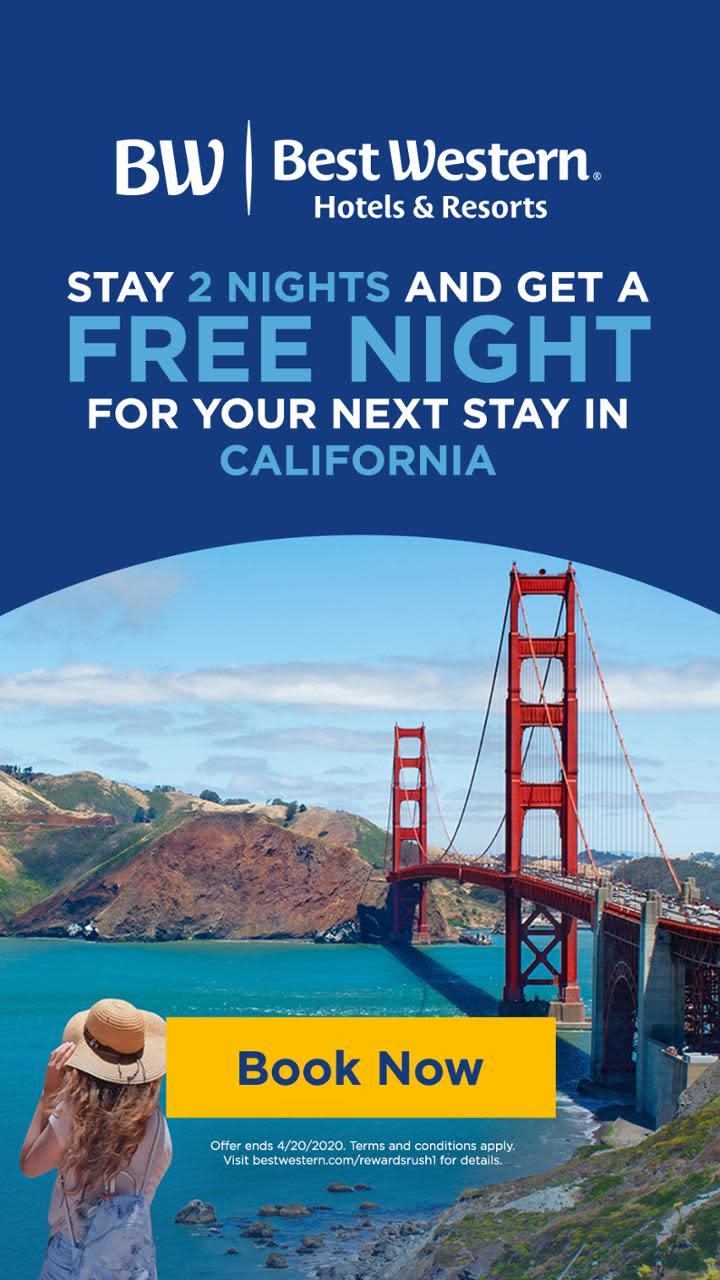 Discover California Travel Savings