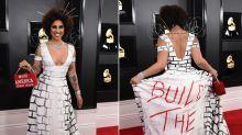 Los otros vestidos polémicos de Joy Villa, la cantante que apoya a Trump y lo muestra sin tapujos