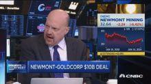 Jim Cramer: Barrick-Randgold deal was better than Newmont...