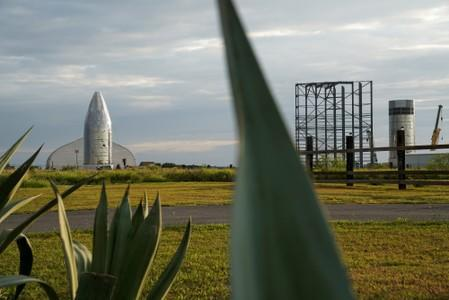 Elon Musk Visits Cocoa, Where SpaceX's New Rocket Prototype Taking Shape