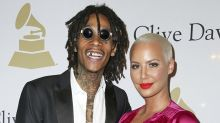 Amber Rose and Wiz Khalifa Dress as Superheroes for Son Sebastian's 4th Birthday