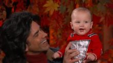John Stamos' Son Billy Makes His Late Night Debut on Halloween