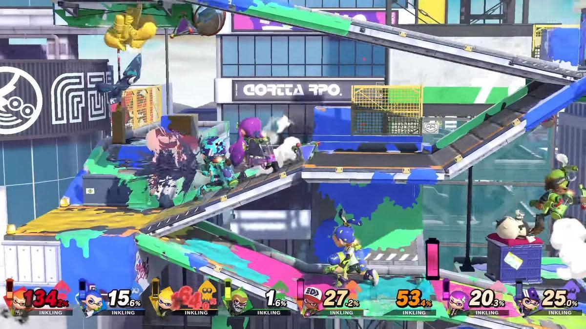 在畫面上展開最多八人同台的大亂鬥。(圖片來源:官方宣傳片截圖)