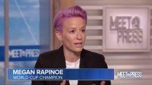 Megan Rapinoe: U.S Women's Soccer Has 'Managed To Make People Proud Again'