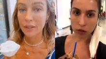 Luana Piovani fez escola? Atriz é criticada após vídeo de juíza burlando o uso da máscara