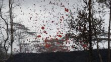 Man suffers injury from 'lava spatter' after Kilauea volcano eruption in Hawaii