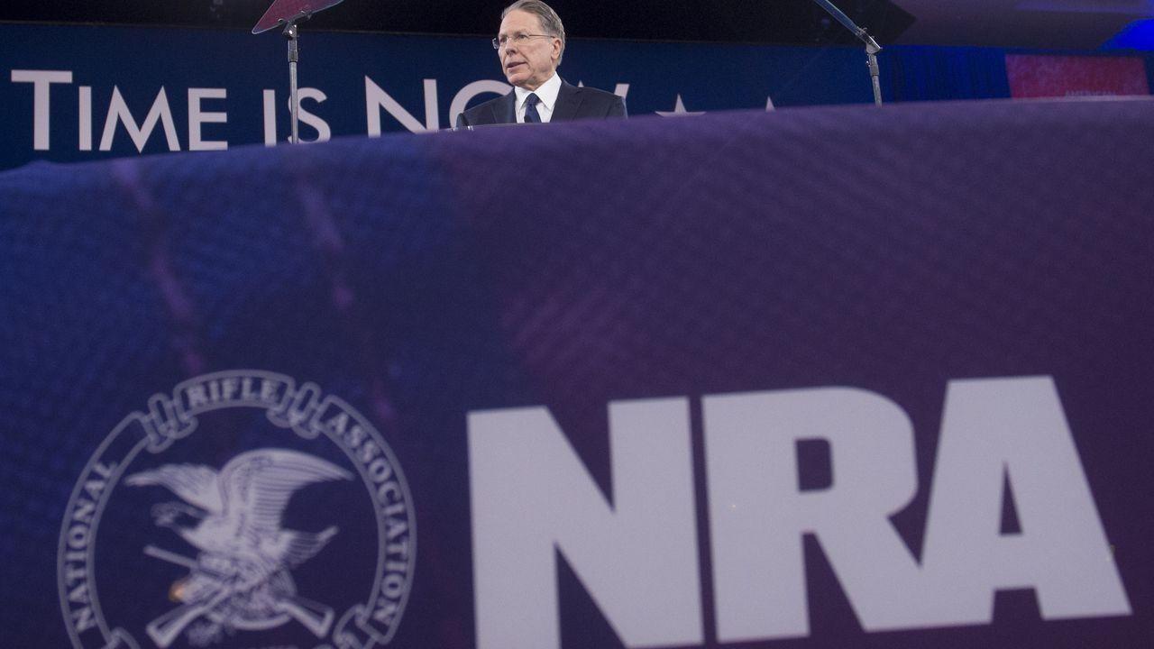 NRA declares bankruptcy, says it will reincorporate in Texas