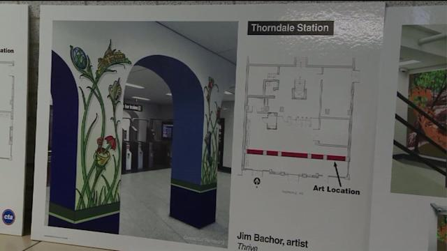 CTA unveils artwork for Red Line North stations