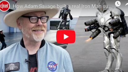 知名工程師 Adam Savage 打造實際可穿戴飛行 Iron Man 套裝