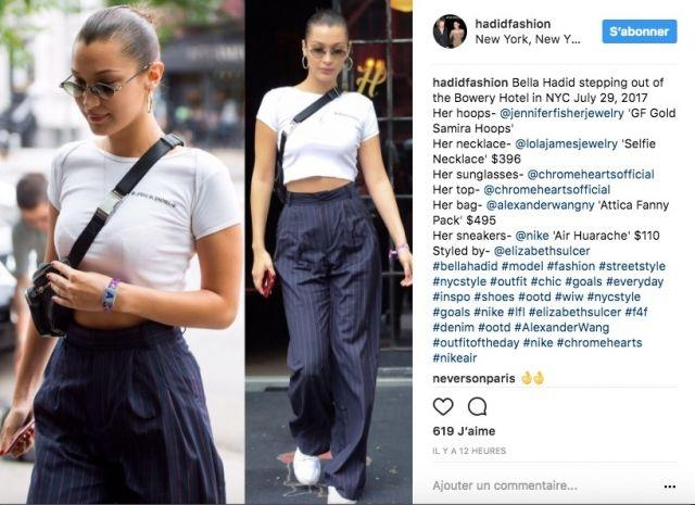 Micro trend bringing back the fanny pack