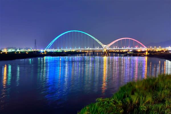 新月橋 (圖/新北市政府)
