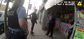 Bodycam footage released after protests in Chicago