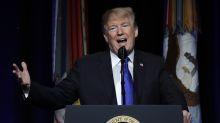 The Latest: Trump, Pelosi flex muscle, shutdown goes on