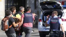 Van ploughs into crowd in Barcelona
