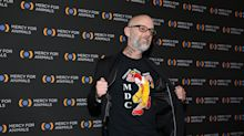 Moby gets huge 'ANIMAL RIGHTS' tattoo on his arms to mark 32 years of veganism