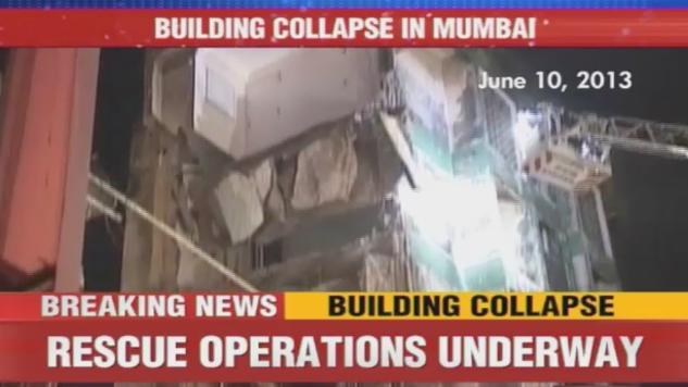 4 killed in Mumbai building collapse