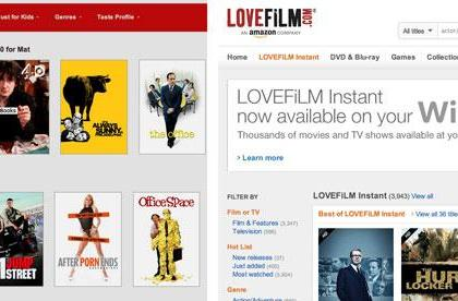 Netflix UK bests Lovefilm Instant on TV shows, but lacks Amazon's movie clout