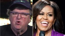 Michael Moore Has A Strategy For Convincing Michelle Obama To Run For President