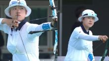South Korean archer An San gets support after receiving sexist comments about her hairstyle