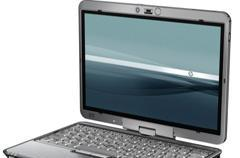 HP Compaq's 2510p laptop / 2710p tablet to rock LED displays