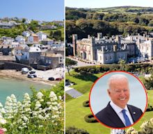 Photos show what it's like to visit Cornwall, where you'll find the UK's most beautiful beaches, historic castles - and this week, world leaders