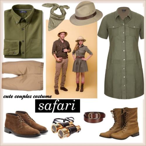 Couples Costume: Safari