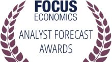 Moody's Analytics Wins at FocusEconomics Analyst Forecast Awards